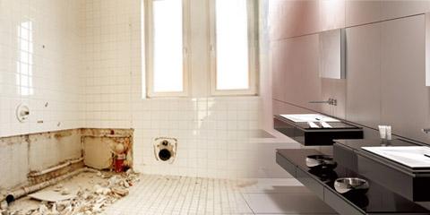As plomberie cr ation de salle de bains for Cout creation salle de bain
