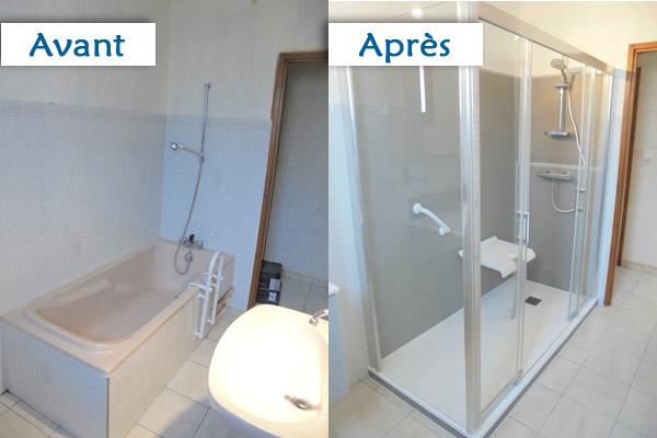 As plomberie cr ation de salle de bains for Creation salle de bain